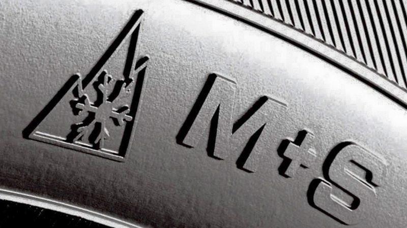 M+S Symbol auf Reifen
